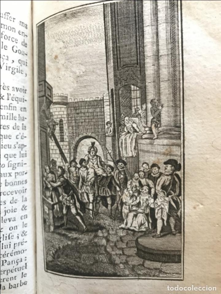 Libros antiguos: Histoire de ladmirable Don Quichote de la Mancha (6 tomos), 1773. M. de Cervantes. Grabados - Foto 60 - 214480975