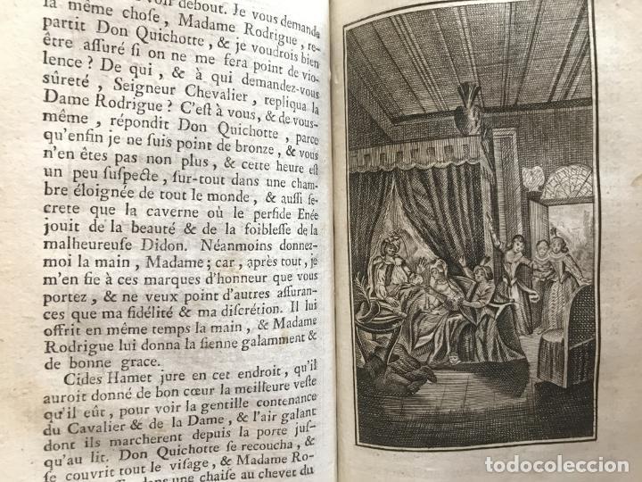 Libros antiguos: Histoire de ladmirable Don Quichote de la Mancha (6 tomos), 1773. M. de Cervantes. Grabados - Foto 64 - 214480975