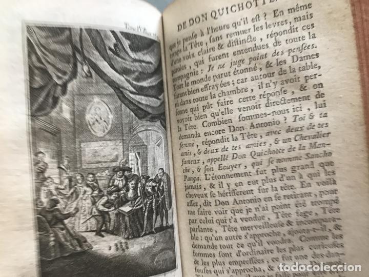 Libros antiguos: Histoire de ladmirable Don Quichote de la Mancha (6 tomos), 1773. M. de Cervantes. Grabados - Foto 66 - 214480975
