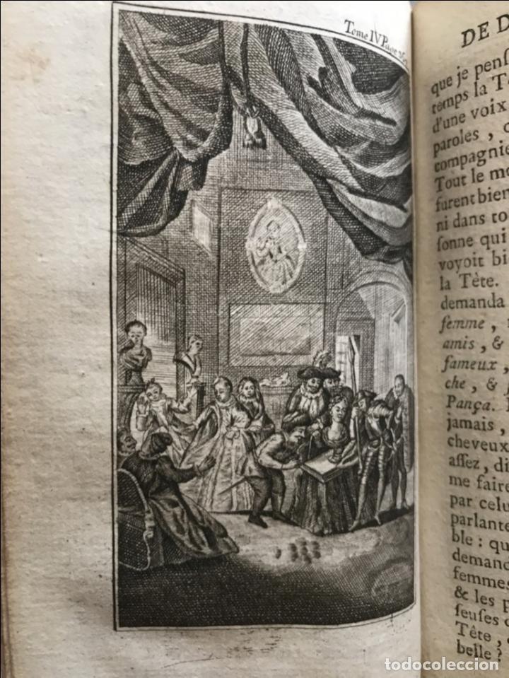 Libros antiguos: Histoire de ladmirable Don Quichote de la Mancha (6 tomos), 1773. M. de Cervantes. Grabados - Foto 67 - 214480975