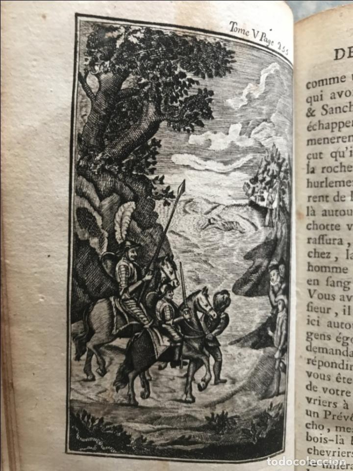 Libros antiguos: Histoire de ladmirable Don Quichote de la Mancha (6 tomos), 1773. M. de Cervantes. Grabados - Foto 82 - 214480975