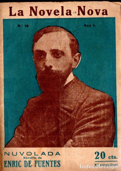 ENRIC DE FUENTES : NUVOLADA (LA NOVELA NOVA, 1917) CATALÀ (Libros antiguos (hasta 1936), raros y curiosos - Literatura - Narrativa - Otros)