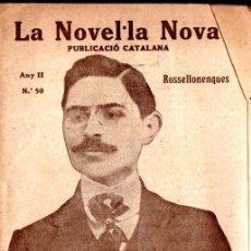 Libros antiguos: FELIP CORTIELLA : ELS PRECURSORS (LA NOVEL.LA NOVA, 1918) - CATALÁN. Lote 214498210