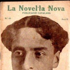 Libros antiguos: ENRIC LLUELLES : LA FESTA DEL CARRER (LA NOVEL.LA NOVA, 1918) CATALÁN. Lote 214499472