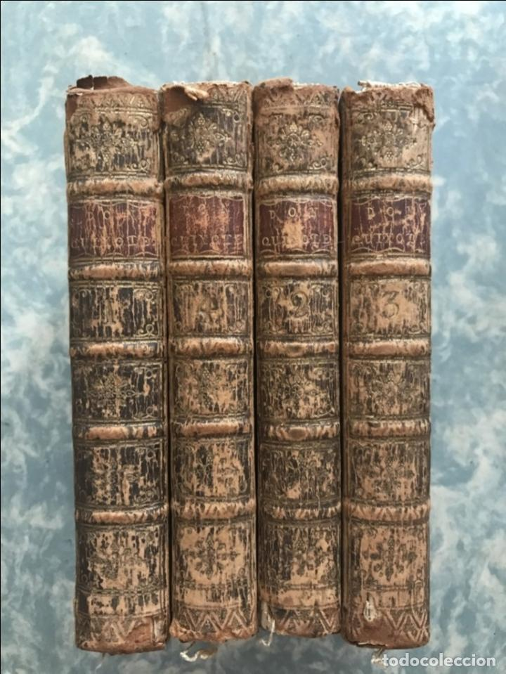 Libros antiguos: The History and Adventures ...Don Quixote, 4 tomos, 1761. Cervantes/Smollett. 28 grabados de Hayman - Foto 4 - 214504323