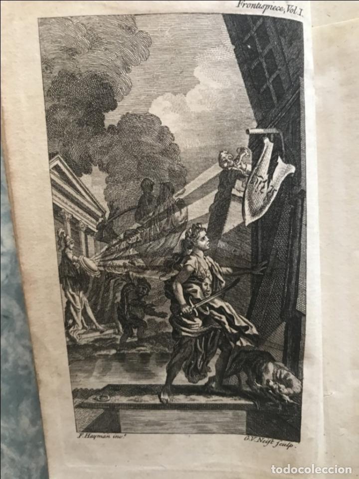 Libros antiguos: The History and Adventures ...Don Quixote, 4 tomos, 1761. Cervantes/Smollett. 28 grabados de Hayman - Foto 11 - 214504323