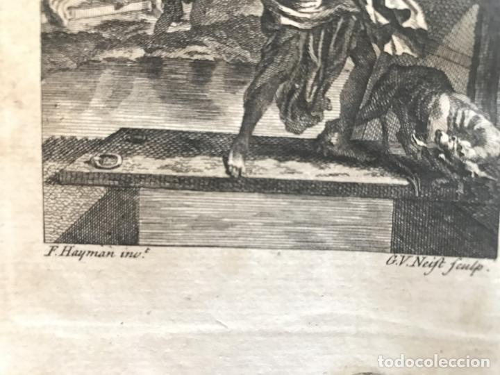 Libros antiguos: The History and Adventures ...Don Quixote, 4 tomos, 1761. Cervantes/Smollett. 28 grabados de Hayman - Foto 13 - 214504323