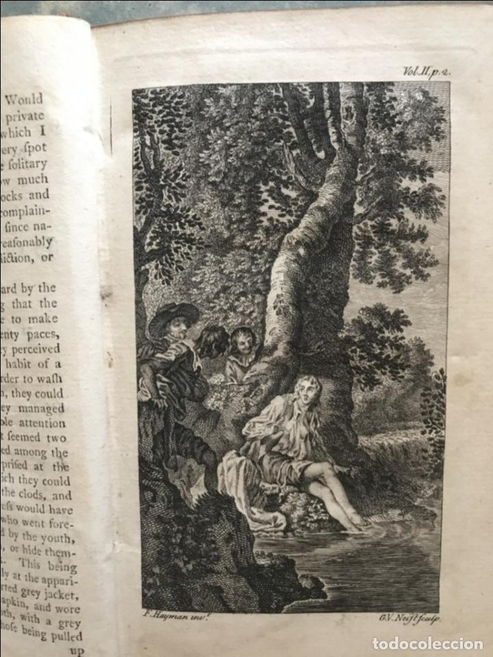 Libros antiguos: The History and Adventures ...Don Quixote, 4 tomos, 1761. Cervantes/Smollett. 28 grabados de Hayman - Foto 45 - 214504323