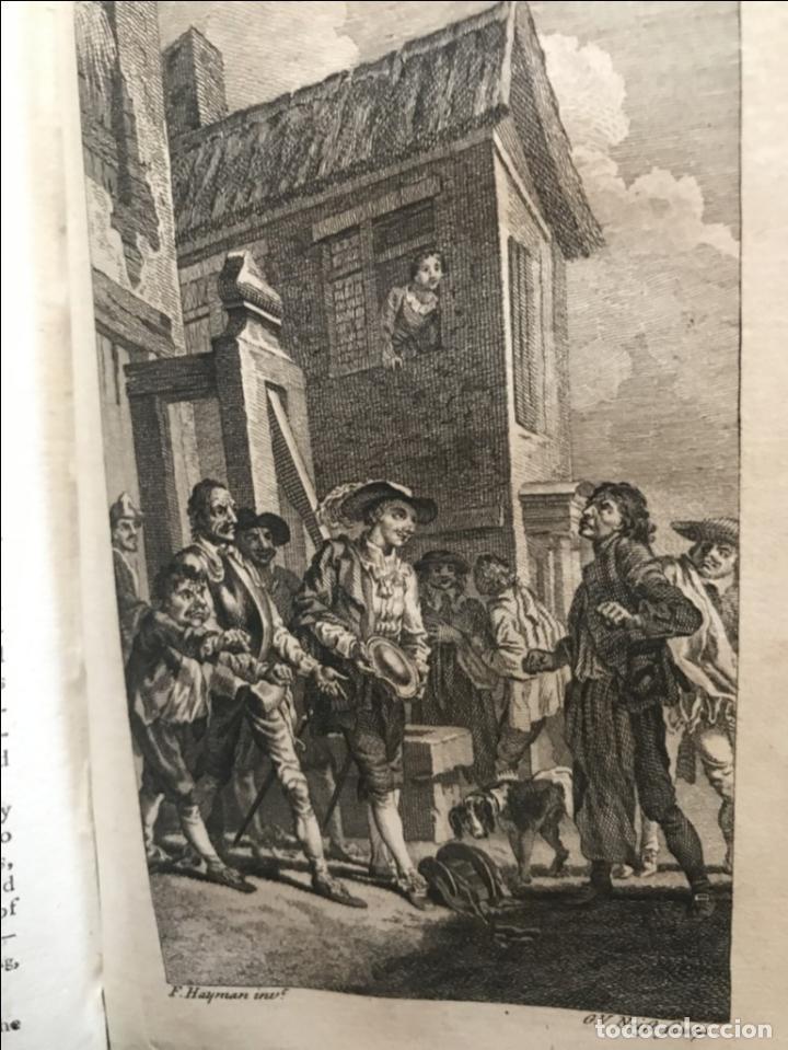 Libros antiguos: The History and Adventures ...Don Quixote, 4 tomos, 1761. Cervantes/Smollett. 28 grabados de Hayman - Foto 53 - 214504323