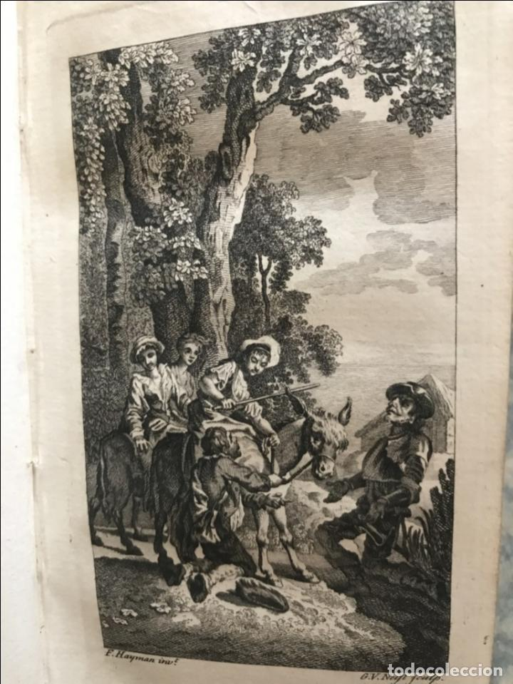 Libros antiguos: The History and Adventures ...Don Quixote, 4 tomos, 1761. Cervantes/Smollett. 28 grabados de Hayman - Foto 63 - 214504323