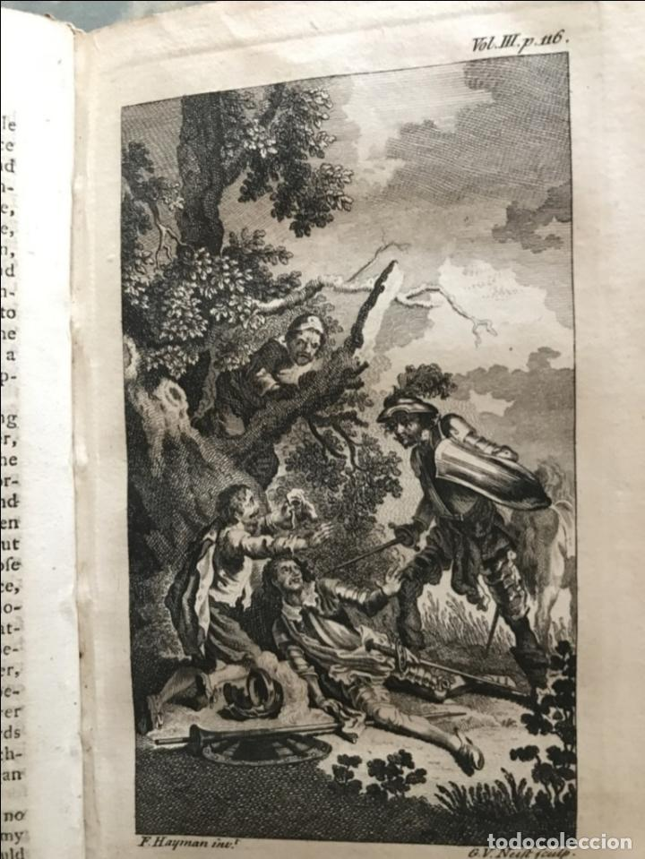 Libros antiguos: The History and Adventures ...Don Quixote, 4 tomos, 1761. Cervantes/Smollett. 28 grabados de Hayman - Foto 65 - 214504323