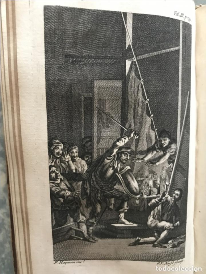 Libros antiguos: The History and Adventures ...Don Quixote, 4 tomos, 1761. Cervantes/Smollett. 28 grabados de Hayman - Foto 69 - 214504323