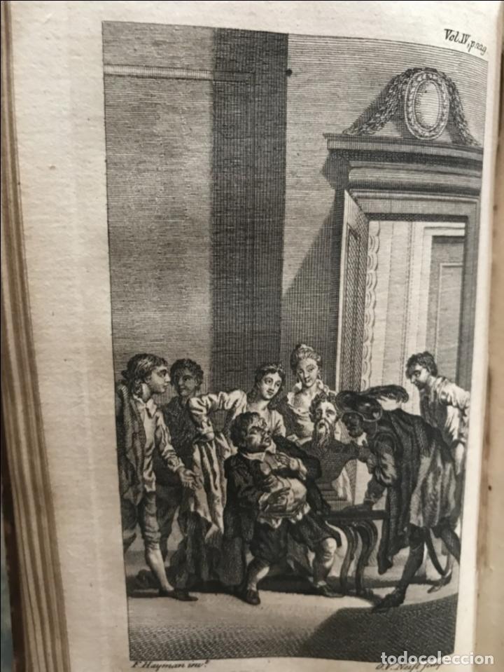 Libros antiguos: The History and Adventures ...Don Quixote, 4 tomos, 1761. Cervantes/Smollett. 28 grabados de Hayman - Foto 92 - 214504323