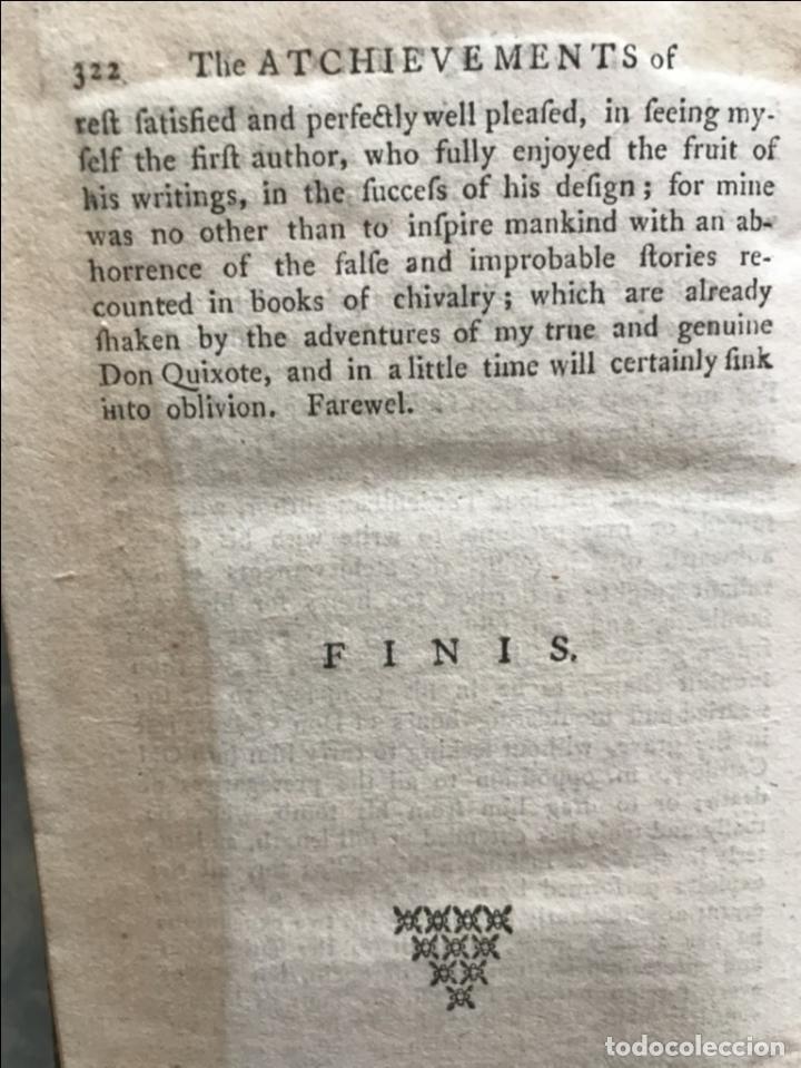 Libros antiguos: The History and Adventures ...Don Quixote, 4 tomos, 1761. Cervantes/Smollett. 28 grabados de Hayman - Foto 97 - 214504323