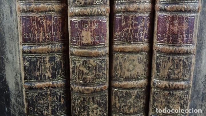 Libros antiguos: The History and Adventures ...Don Quixote, 4 tomos, 1761. Cervantes/Smollett. 28 grabados de Hayman - Foto 98 - 214504323