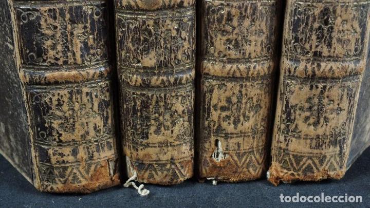 Libros antiguos: The History and Adventures ...Don Quixote, 4 tomos, 1761. Cervantes/Smollett. 28 grabados de Hayman - Foto 99 - 214504323