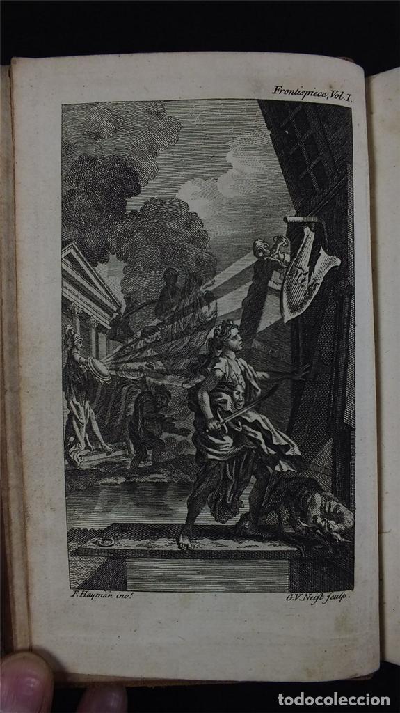 Libros antiguos: The History and Adventures ...Don Quixote, 4 tomos, 1761. Cervantes/Smollett. 28 grabados de Hayman - Foto 102 - 214504323