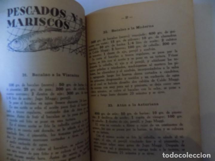 Libros antiguos: LIBRERIA GHOTICA. RECETAS PRÁCTICAS PARA LA COCINA.PRODUCTOS MAGGI. 1940. OBRA ILUSTRADA. - Foto 2 - 214513503