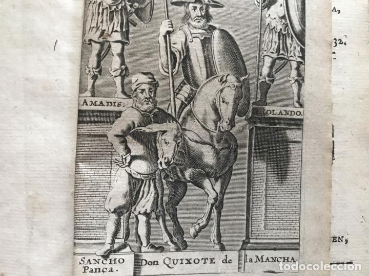 Libros antiguos: VIDA Y HECHOS...DON QUIJOTE DE LA MANCHA, Tomo I, 1719. Cervantes/Verdussen/Boultats - Foto 9 - 214545177