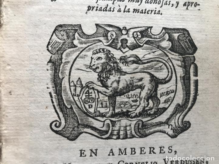 Libros antiguos: VIDA Y HECHOS...DON QUIJOTE DE LA MANCHA, Tomo I, 1719. Cervantes/Verdussen/Boultats - Foto 10 - 214545177