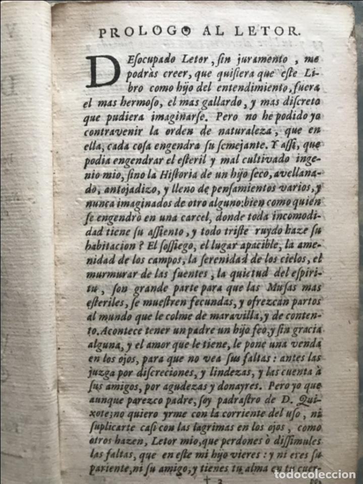 Libros antiguos: VIDA Y HECHOS...DON QUIJOTE DE LA MANCHA, Tomo I, 1719. Cervantes/Verdussen/Boultats - Foto 11 - 214545177