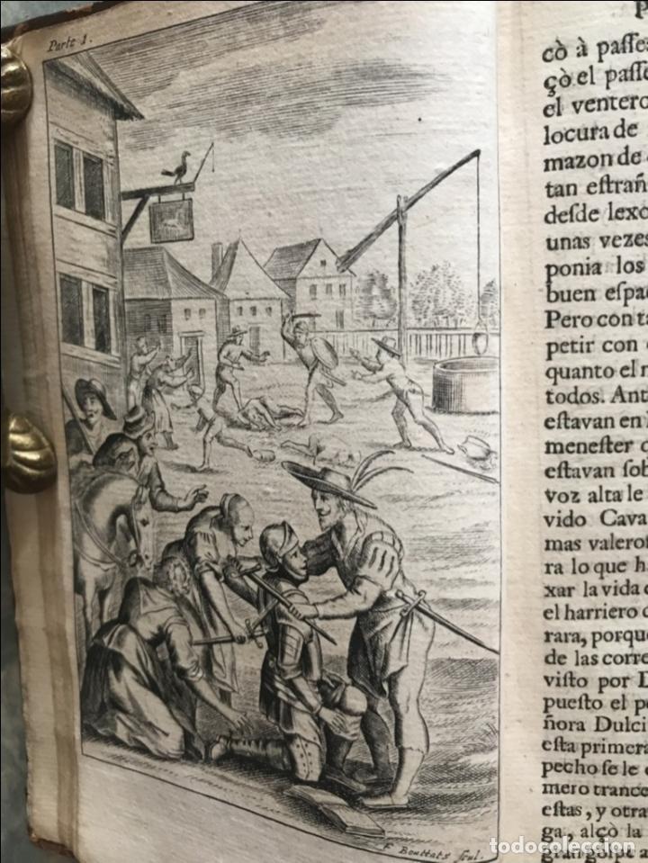 Libros antiguos: VIDA Y HECHOS...DON QUIJOTE DE LA MANCHA, Tomo I, 1719. Cervantes/Verdussen/Boultats - Foto 16 - 214545177