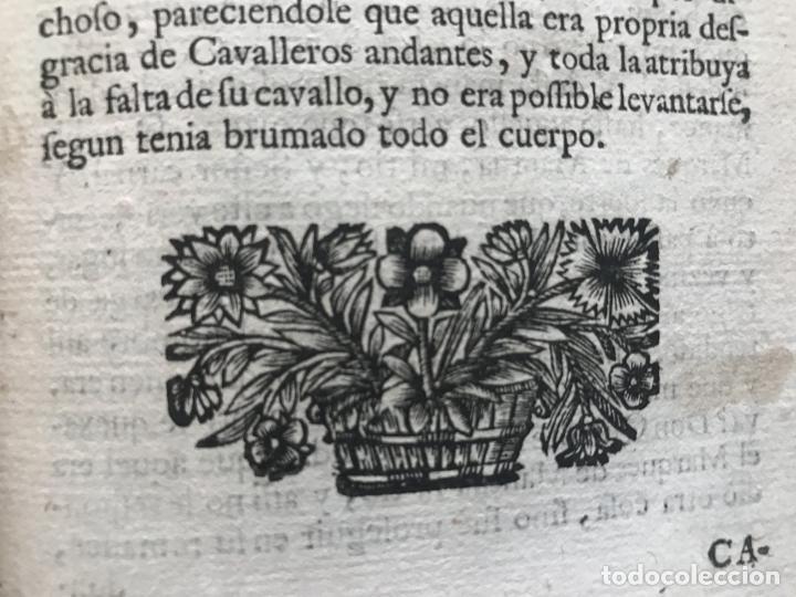Libros antiguos: VIDA Y HECHOS...DON QUIJOTE DE LA MANCHA, Tomo I, 1719. Cervantes/Verdussen/Boultats - Foto 22 - 214545177
