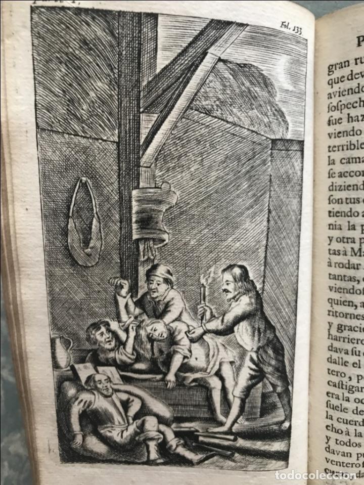 Libros antiguos: VIDA Y HECHOS...DON QUIJOTE DE LA MANCHA, Tomo I, 1719. Cervantes/Verdussen/Boultats - Foto 26 - 214545177