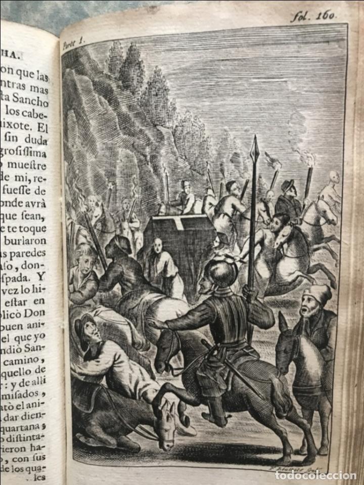 Libros antiguos: VIDA Y HECHOS...DON QUIJOTE DE LA MANCHA, Tomo I, 1719. Cervantes/Verdussen/Boultats - Foto 29 - 214545177