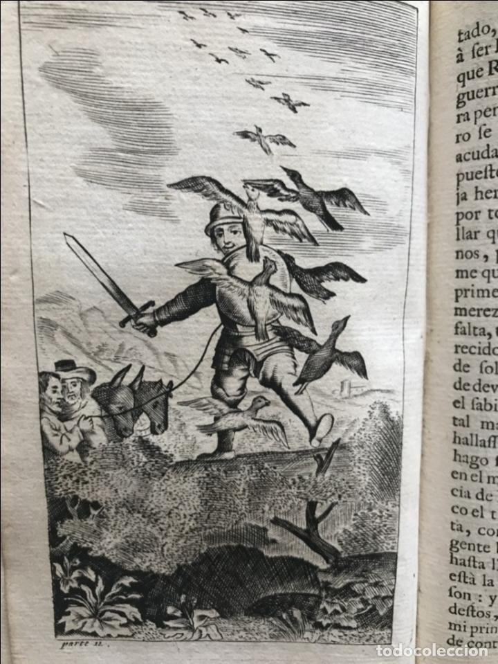 Libros antiguos: VIDA Y HECHOS...DON QUIJOTE DE LA MANCHA, Tomo I, 1719. Cervantes/Verdussen/Boultats - Foto 31 - 214545177