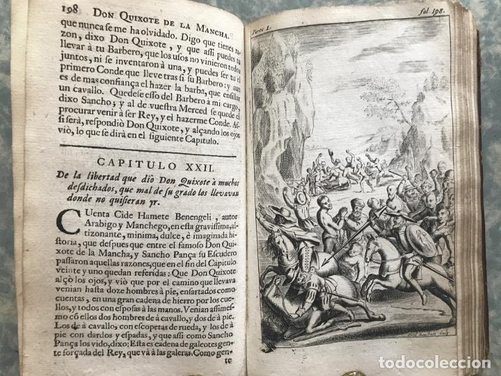 Libros antiguos: VIDA Y HECHOS...DON QUIJOTE DE LA MANCHA, Tomo I, 1719. Cervantes/Verdussen/Boultats - Foto 32 - 214545177