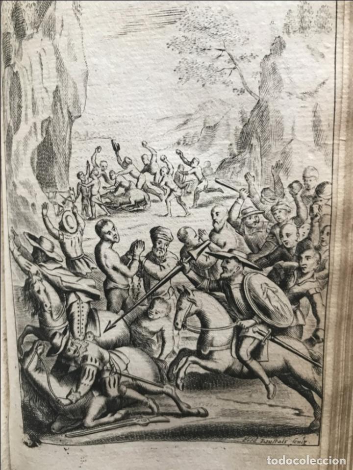 Libros antiguos: VIDA Y HECHOS...DON QUIJOTE DE LA MANCHA, Tomo I, 1719. Cervantes/Verdussen/Boultats - Foto 33 - 214545177