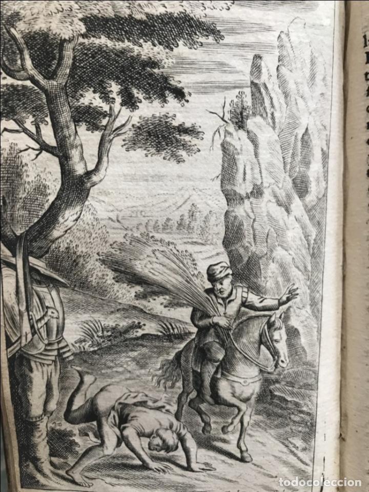 Libros antiguos: VIDA Y HECHOS...DON QUIJOTE DE LA MANCHA, Tomo I, 1719. Cervantes/Verdussen/Boultats - Foto 37 - 214545177