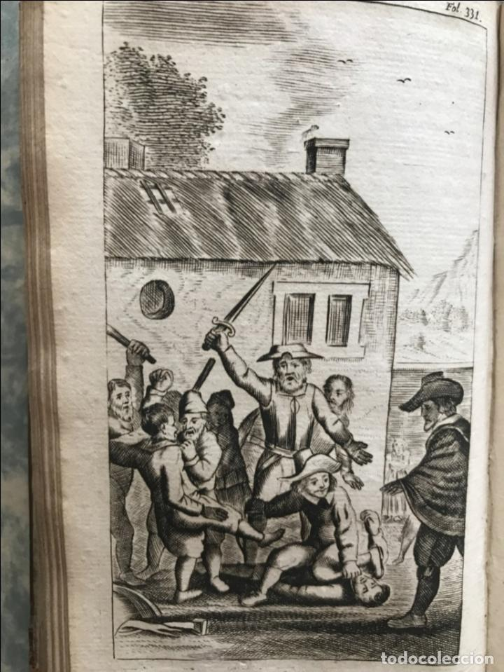 Libros antiguos: VIDA Y HECHOS...DON QUIJOTE DE LA MANCHA, Tomo I, 1719. Cervantes/Verdussen/Boultats - Foto 39 - 214545177
