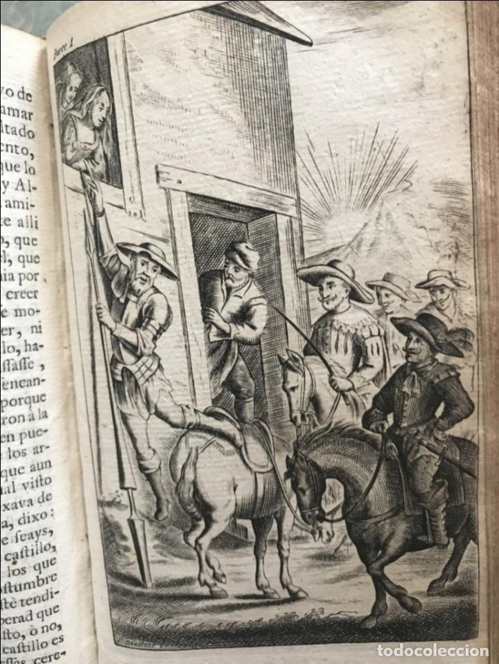 Libros antiguos: VIDA Y HECHOS...DON QUIJOTE DE LA MANCHA, Tomo I, 1719. Cervantes/Verdussen/Boultats - Foto 41 - 214545177