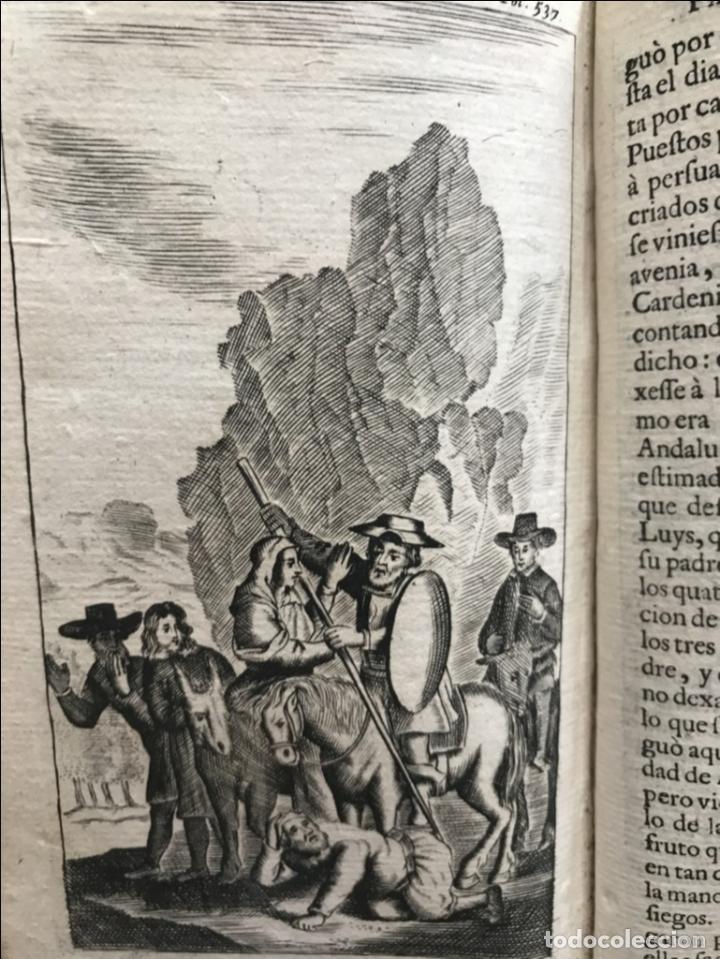 Libros antiguos: VIDA Y HECHOS...DON QUIJOTE DE LA MANCHA, Tomo I, 1719. Cervantes/Verdussen/Boultats - Foto 43 - 214545177