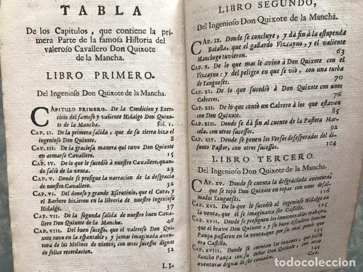 Libros antiguos: VIDA Y HECHOS...DON QUIJOTE DE LA MANCHA, Tomo I, 1719. Cervantes/Verdussen/Boultats - Foto 47 - 214545177
