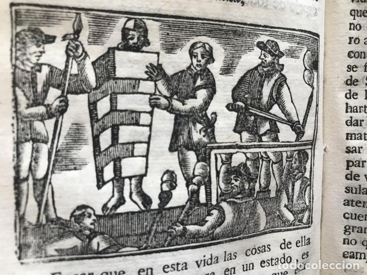 Libros antiguos: Vida y Hechos...don Quijote de la Mancha, tomo 4, 1765. M. de Cervantes/Manuel Martin. Xilografías. - Foto 16 - 214624825