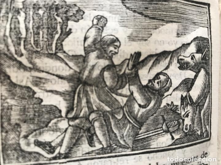 Libros antiguos: Vida y Hechos...don Quijote de la Mancha, tomo 4, 1765. M. de Cervantes/Manuel Martin. Xilografías. - Foto 18 - 214624825