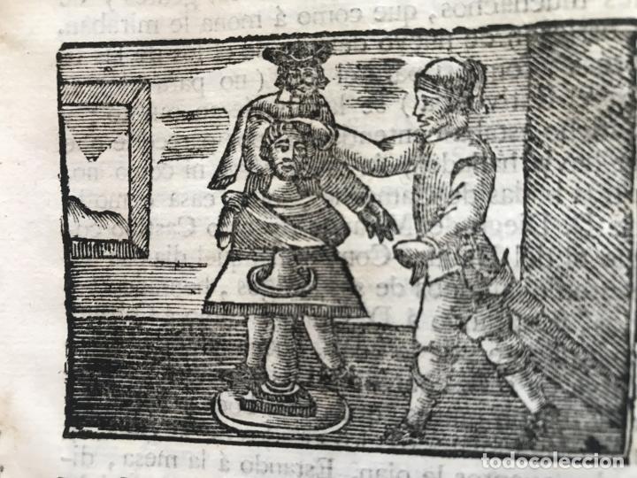 Libros antiguos: Vida y Hechos...don Quijote de la Mancha, tomo 4, 1765. M. de Cervantes/Manuel Martin. Xilografías. - Foto 20 - 214624825