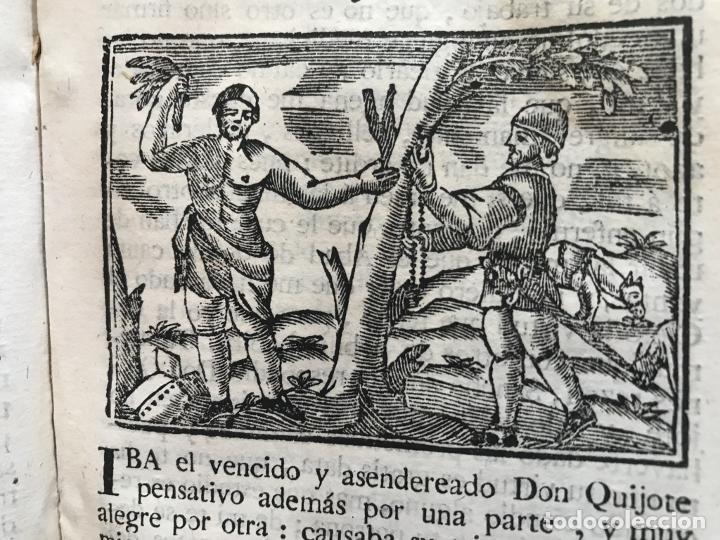 Libros antiguos: Vida y Hechos...don Quijote de la Mancha, tomo 4, 1765. M. de Cervantes/Manuel Martin. Xilografías. - Foto 22 - 214624825