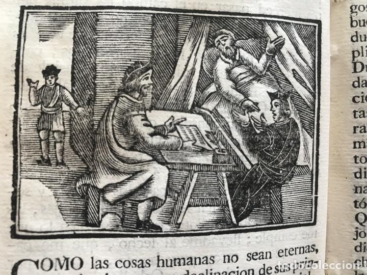 Libros antiguos: Vida y Hechos...don Quijote de la Mancha, tomo 4, 1765. M. de Cervantes/Manuel Martin. Xilografías. - Foto 25 - 214624825
