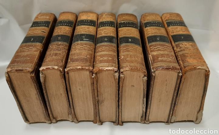 Libros antiguos: EL QUIJOTE, PARÍS Y LONDRES 1814. CERVANTES SAAVEDRA. EL INGENIOSO HIDALGO DON QUIJOTE DE LA MANCHA. - Foto 3 - 214846222