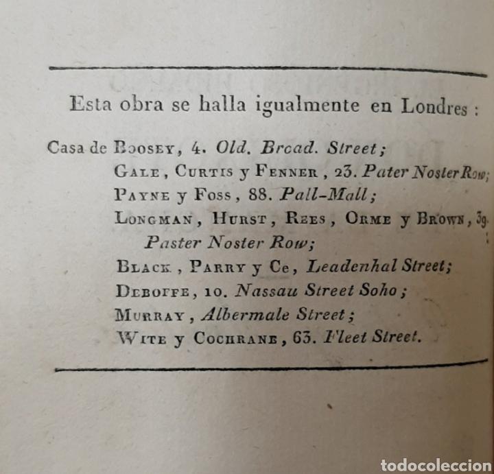 Libros antiguos: EL QUIJOTE, PARÍS Y LONDRES 1814. CERVANTES SAAVEDRA. EL INGENIOSO HIDALGO DON QUIJOTE DE LA MANCHA. - Foto 5 - 214846222