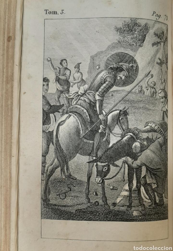 Libros antiguos: EL QUIJOTE, PARÍS Y LONDRES 1814. CERVANTES SAAVEDRA. EL INGENIOSO HIDALGO DON QUIJOTE DE LA MANCHA. - Foto 9 - 214846222