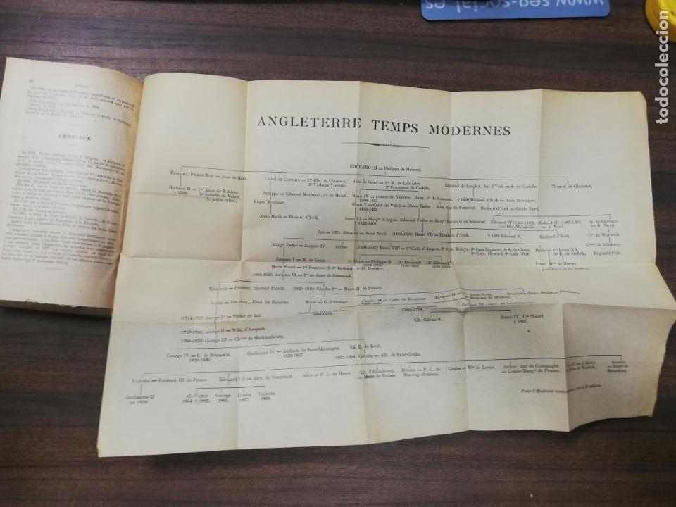 Libros antiguos: CHRONOLOGIE DE L´HISTOIRE D´ANGLETERRE. IMPRIMERIE A. MAME ET FILS. TOURS 1900. - Foto 3 - 214889713