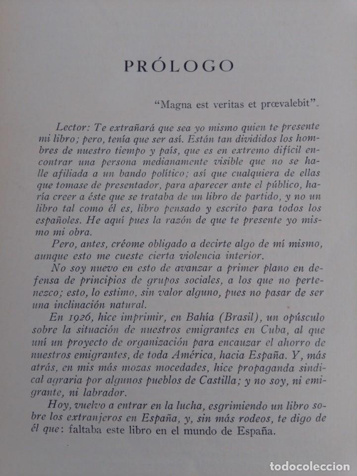 Libros antiguos: La España de quién? Libro editado en 1936 - Foto 3 - 214914725