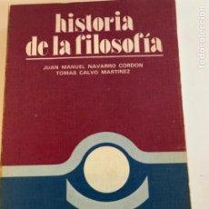 Libros antiguos: HISTORIA DE LA FILOSOFÍA. Lote 214932570