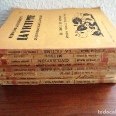 Livres anciens: LOTE DE 8 TÍTULOS DE LA COLECCIÓN LE LIVRE DE DEMAIN CON MULTITUD DE XILOGRAFIAS SE VENDEN SUELTOS. Lote 215159312