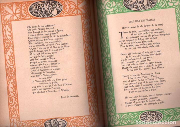 Libros antiguos: CANÇONER DE NADAL (JOVENTUT, 1035) EN CATALÀ - COMO NUEVO - Foto 2 - 215274045